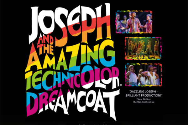 Website designed for Joseph & the Amazing Technicolor Dreamcoat