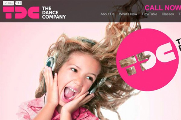 Website designed for TDC The Dance Company