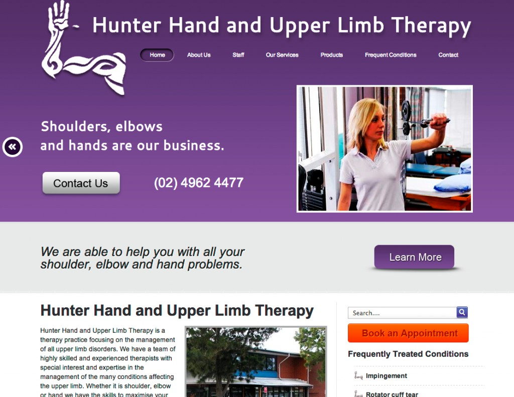 Hunter Hand and Upper Limb Therapy